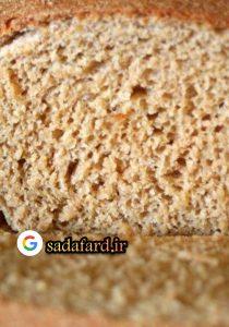 نان با آرد گندم کامل