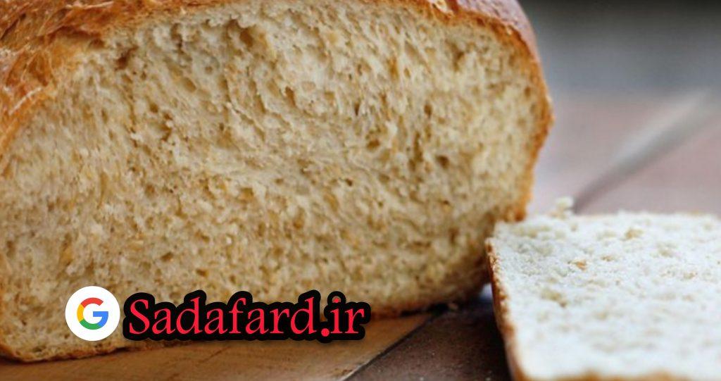 نان جو که با استفتده از آرد جو سبوس دار پخت شده است.