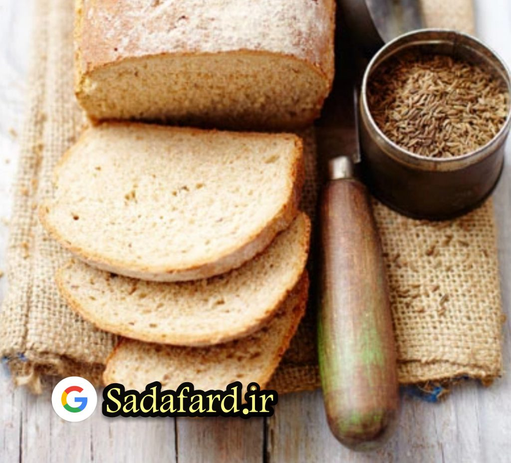 آرد چاودار حاوی فیبر فراوان نسبت به نان گندم پخته شده تراکم پذیری بیشتری دارد.