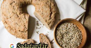 نان پخته شده با آرد چاودار