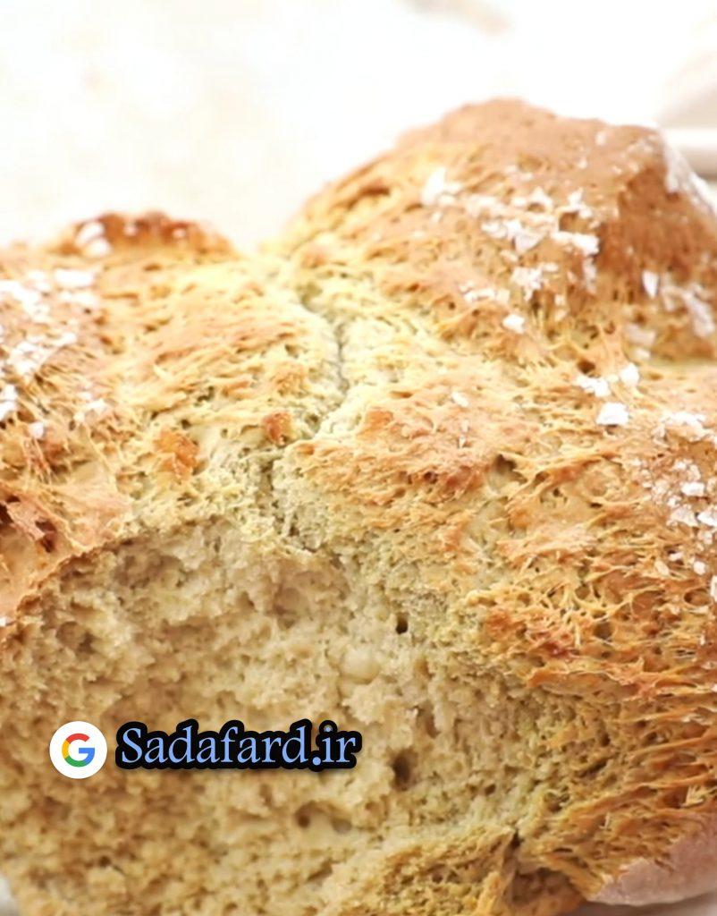 نان پخته شده با آرد گندم سیاه مفید برای سلامتی