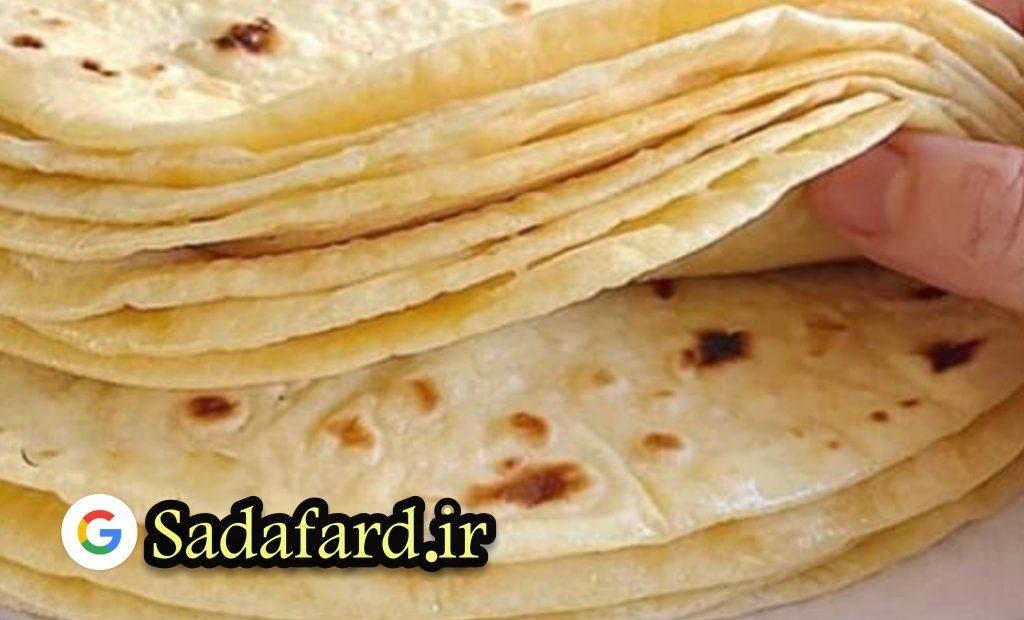 برای پخت نان خانگی از آرد شیرینی و کیک استفاده نکنید. آرد با کیفیت مناسب و سبوس دار تهیه کنید.