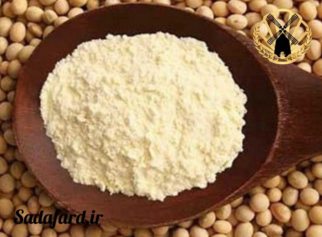 آرد سویا با توجه به چربی و آنزیم های موجود در آن تقسیم می شود.
