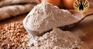 آرد گندم سیاه به همراه دانه