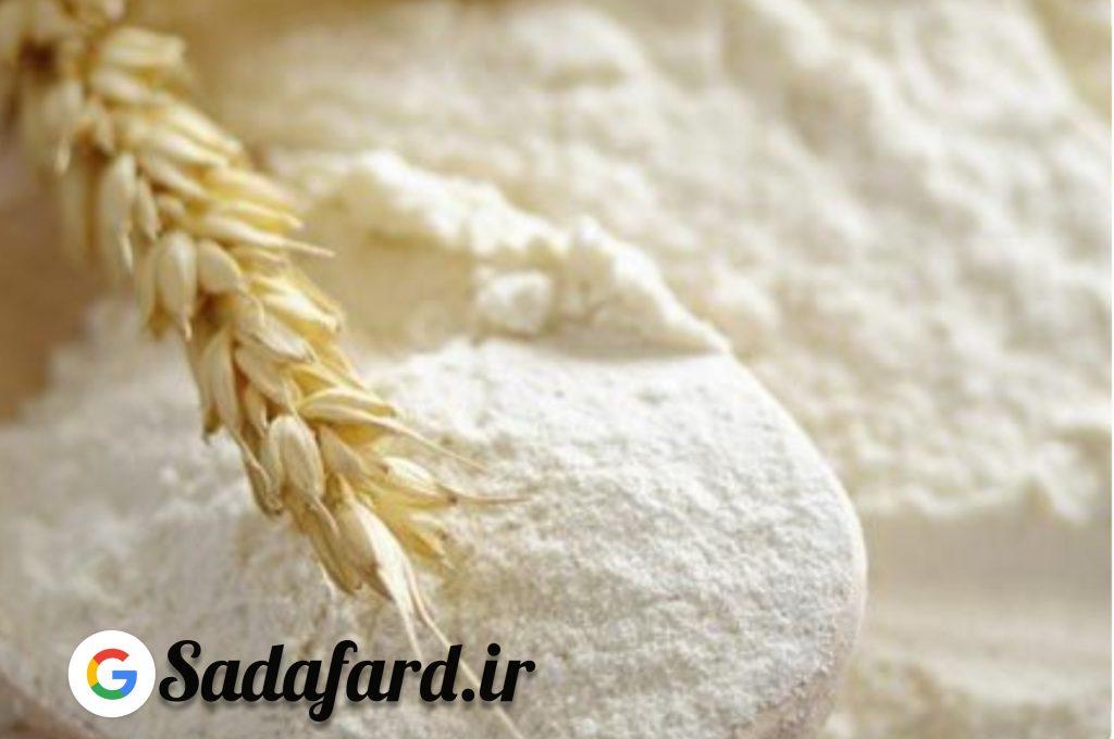 مراحل تبدیل از گندم تا نان و تبدیل آن به نان آورده شده است.