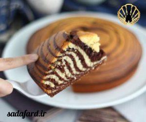 کیک گورخری