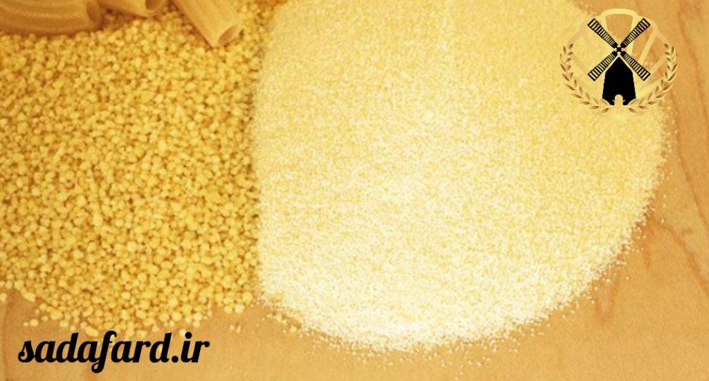 از کاربرد آرد سمولینا می توان به تهیه ماکارانی، کیک و شیرینی اشاره کرد.