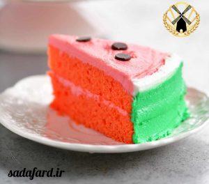 کیک هندوانه ای