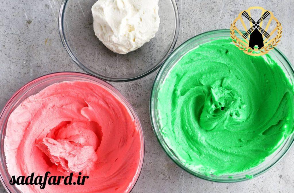 طرز پخت کیک هندوانه ای + فیلم