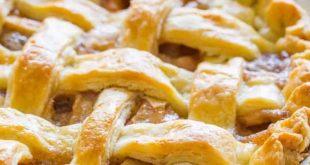 کیک پای سیب