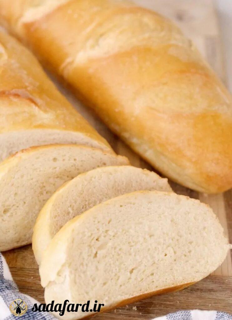 نان فرانسوی خانگی