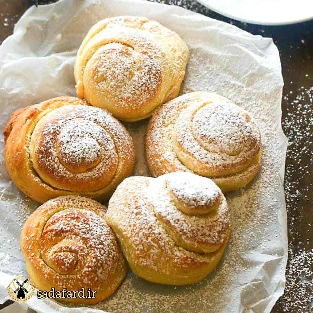 نان حلزونی اسپانیایی از نان های خوشمزه و پر طرفدار است.